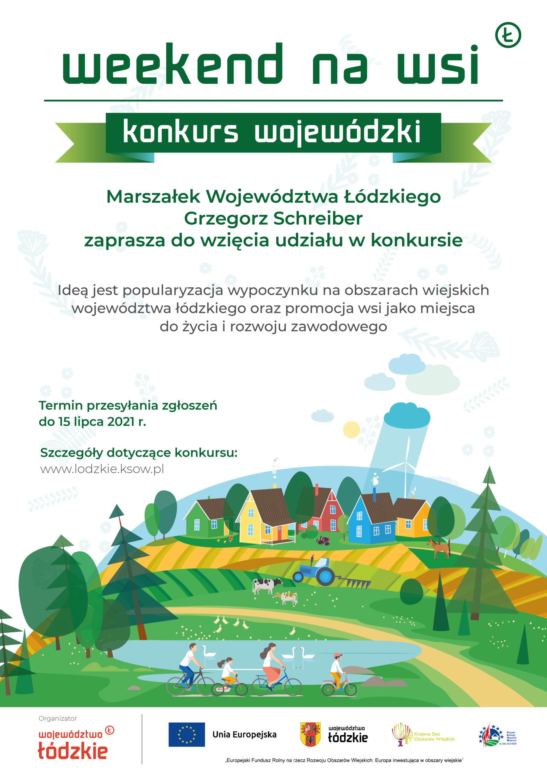 weekend na wsi plakat